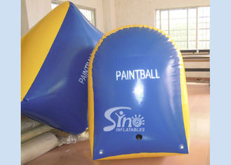 Customized Tomstone Inflatable Paintball Bunker with EN71 certificated PVC Tarpaulin